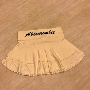 New Abercrombie&Fitch Mini Skirt in Yellow SizeS/M